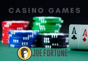 There is also a dedicated live casino section, where you can play live blackjack, live roulette, and live baccarat.